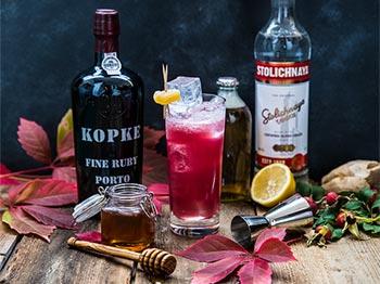 Höstens godaste drink, med portvin!
