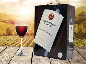 Rödvin från Sydafrika med ny design