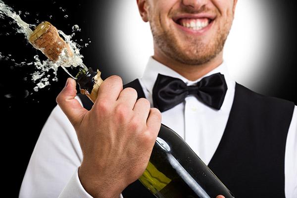 Hur öppnar man en champagneflaska?