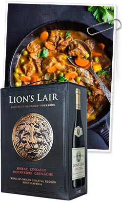 Lion's Lair Bag in Box
