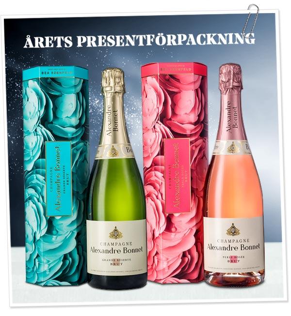 Champagne i Limiterad presentförpackning