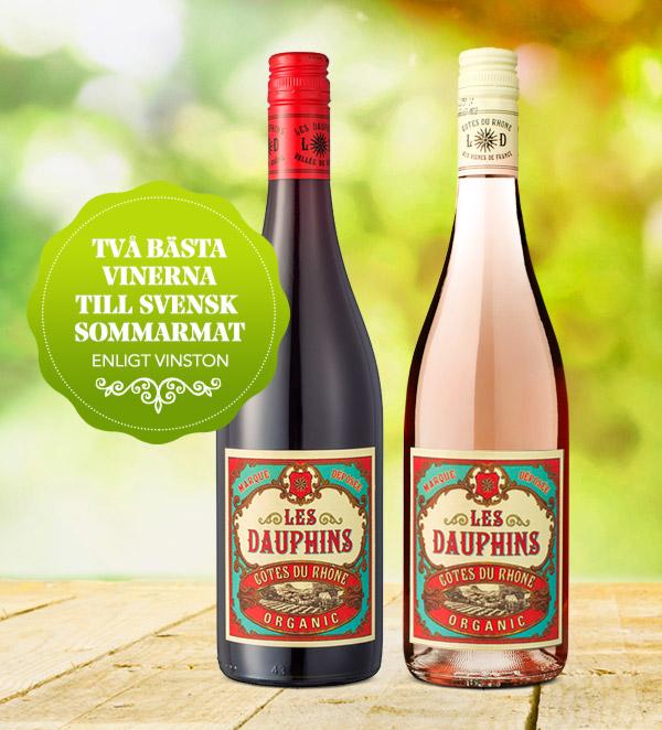 Bästa vinerna till svensk sommarmat