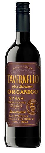 Tavernello Syrah Organico